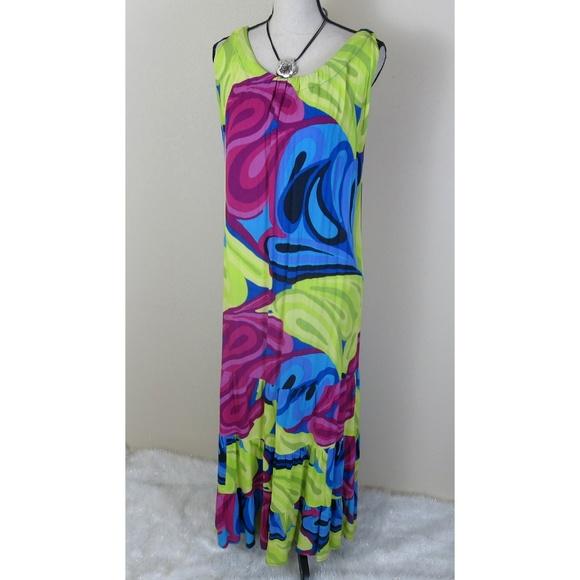 Westbound Plus Size Patio Maxi Dress Size 2X